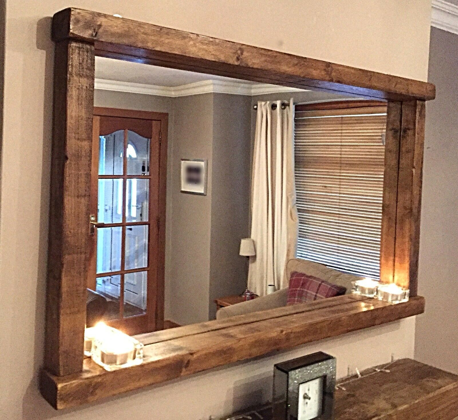 * HANDCRAFTED Rustic/Farmhouse/Country Style Solid Chunky