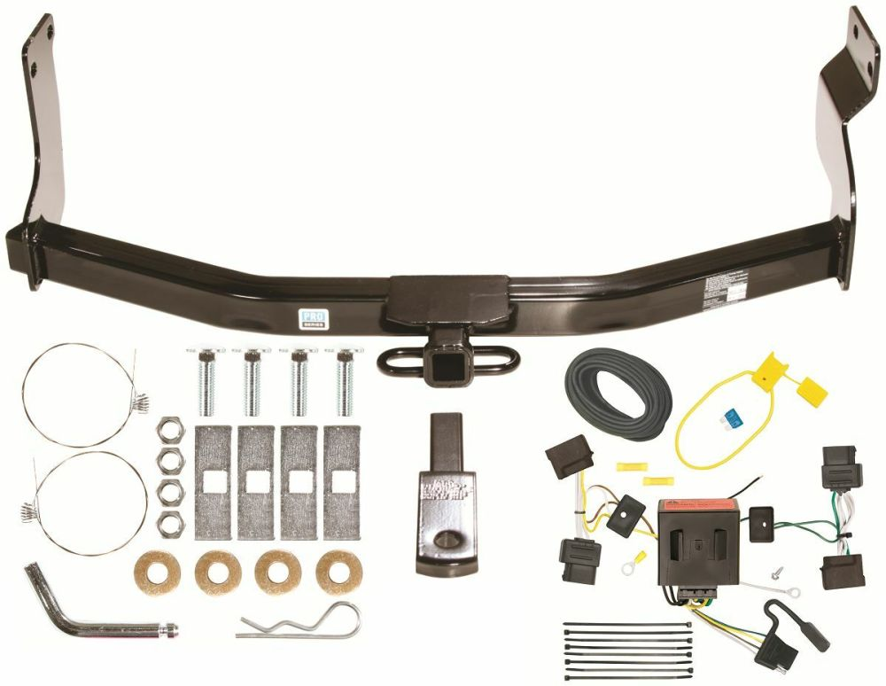 medium resolution of 08 12 ford escape trailer hitch wiring kit combo class 2 tow receiver