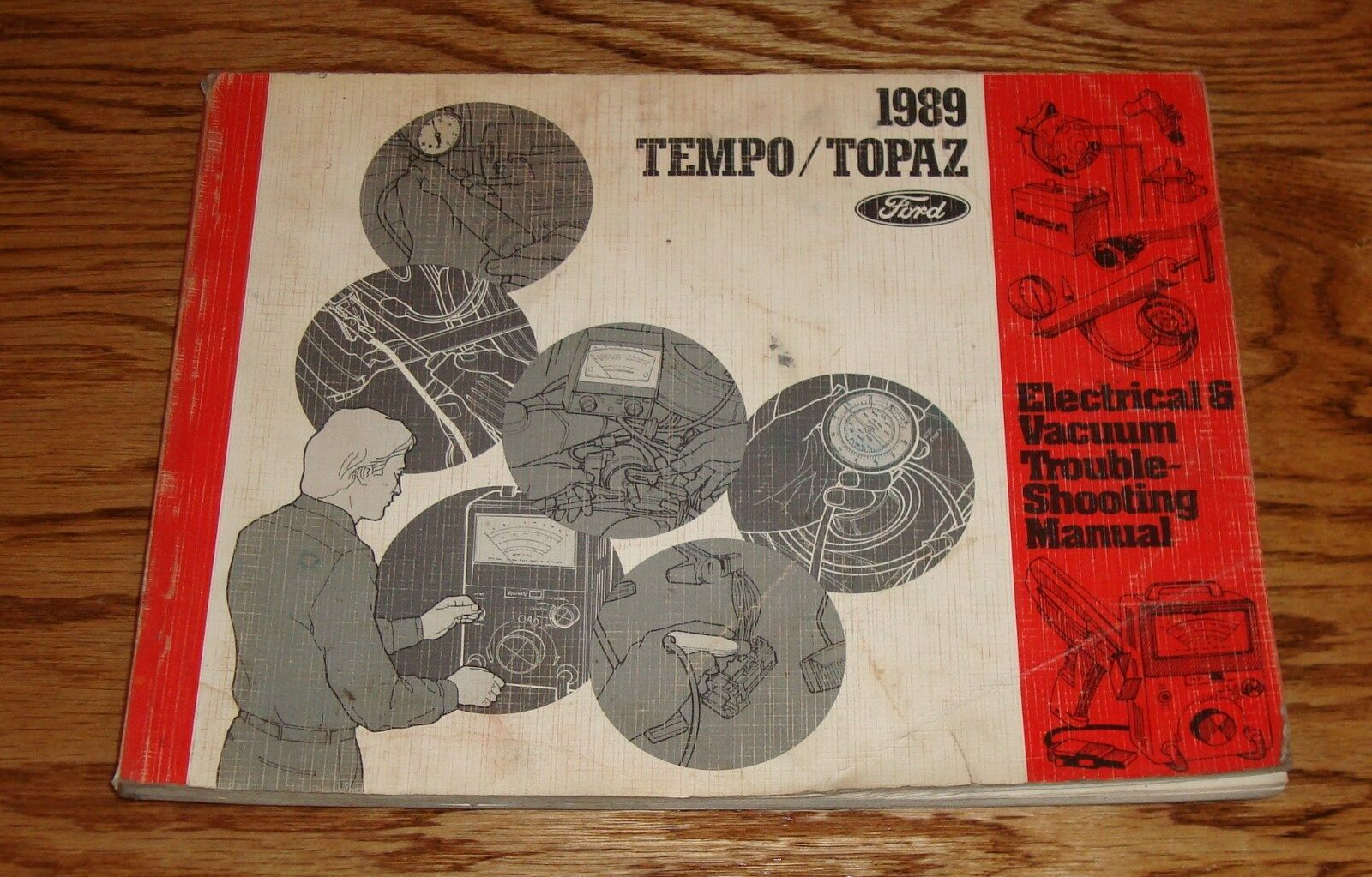 hight resolution of 1989 ford tempo topaz wiring diagram evtm manual 89 1 of 1only 1 available see