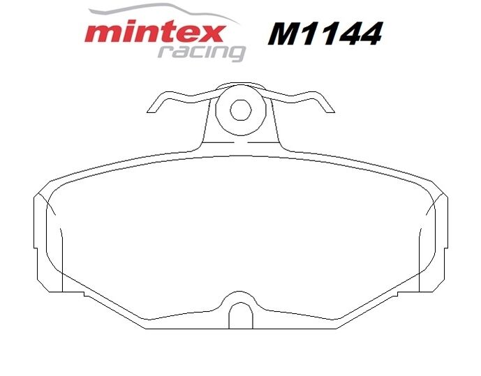 MINTEX M1144 FOR Ford Escort 2.0 MK 6 RS Cosworth 92>95