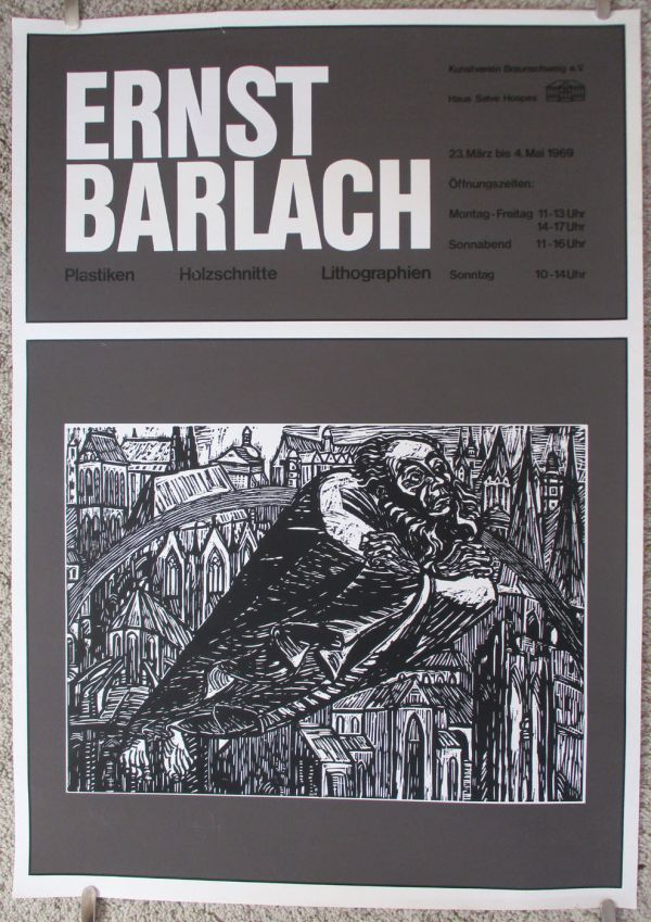 Ernst Barlach - German Exhibition Poster