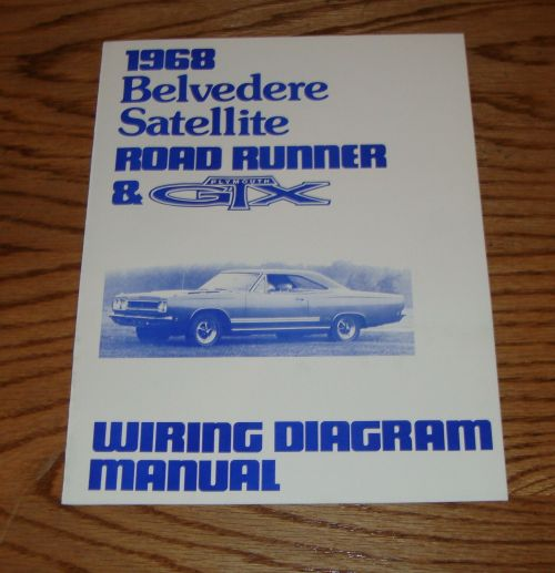 small resolution of 1968 plymouth belvedere satellite road runner gtx wiring diagram manual 68 1 of 1only 2
