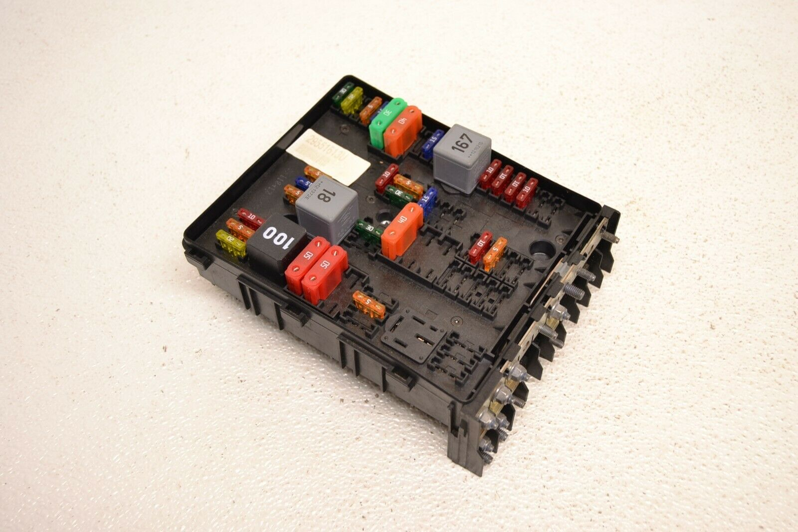 hight resolution of mk6 vw gti golf fuse box block relay module control unit genuine oem 2010 2014 1 of 4only 1 available