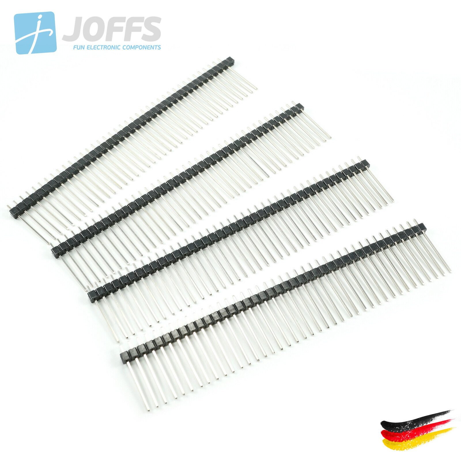 10 X 40 Pin Stiftleiste 21mm Einreihig 2 54mm Single Row
