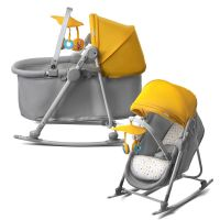 KINDERKRAFT UNIMO YELLOW Baby Bouncing Chair Bouncer Lying ...