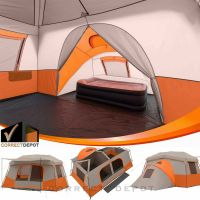 OZARK TRAIL 11 Person 3 Room Instant Cabin Tent Outdoor ...