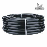 BLACK BRAIDED FLEXIBLE PVC Hose Pipe for Water Air Oil ...