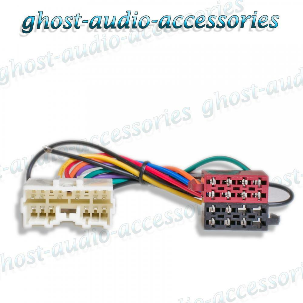 hight resolution of mitsubishi carisma 95 iso radio stereo harness adapter wiring connector 1 of 1free shipping
