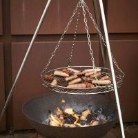 STAINLESS Steel Tripod Grill/BBQ/Camping/Cooking Equipment ...