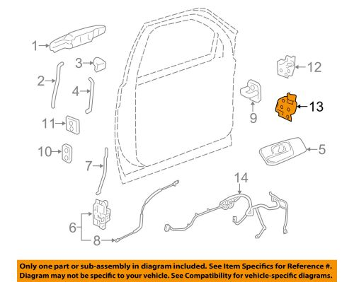 small resolution of gm oem door hinge lower left 20969645 1 of 2only 2 available