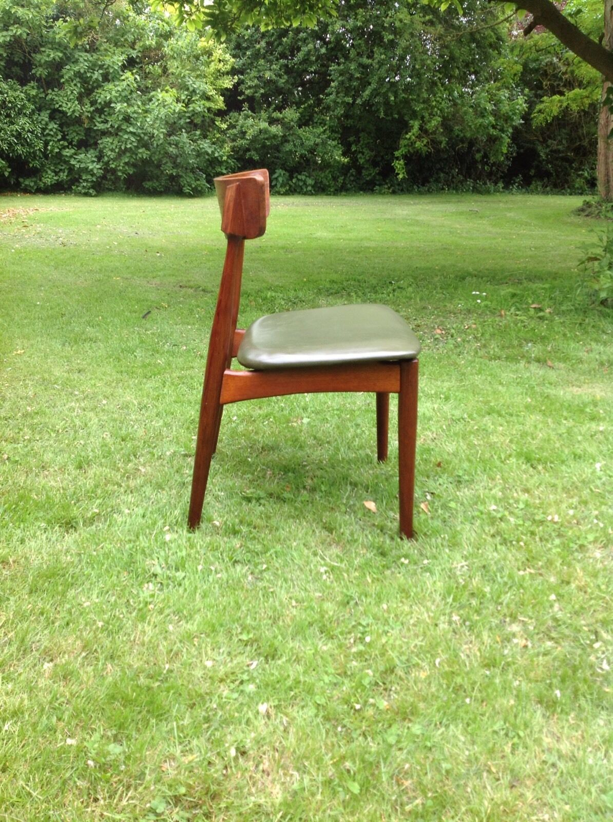 desk chair retro wheel in mumbai vintage teak mid century 1950s danish