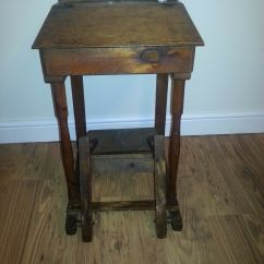 Folding Chair Desk Bears In Chairs School And Antique Vintage 35 00