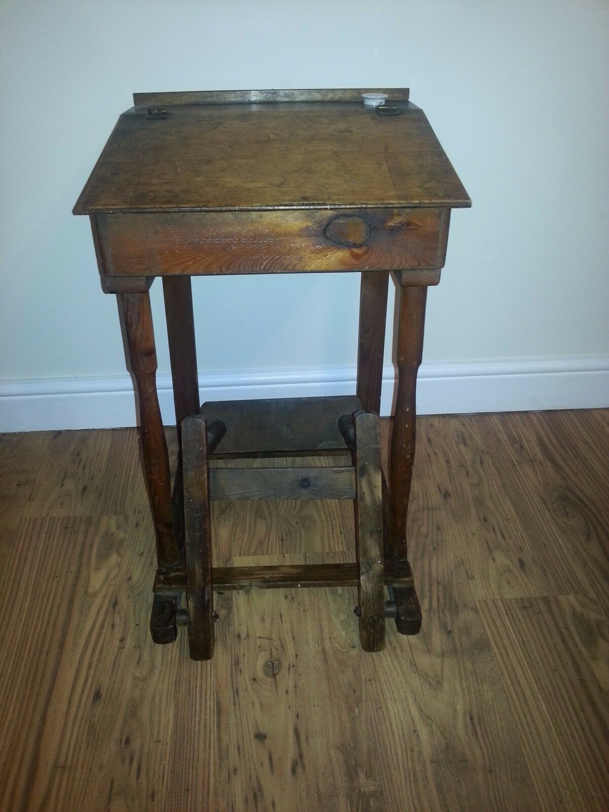 folding chair with desk baby name school and antique vintage 35 00