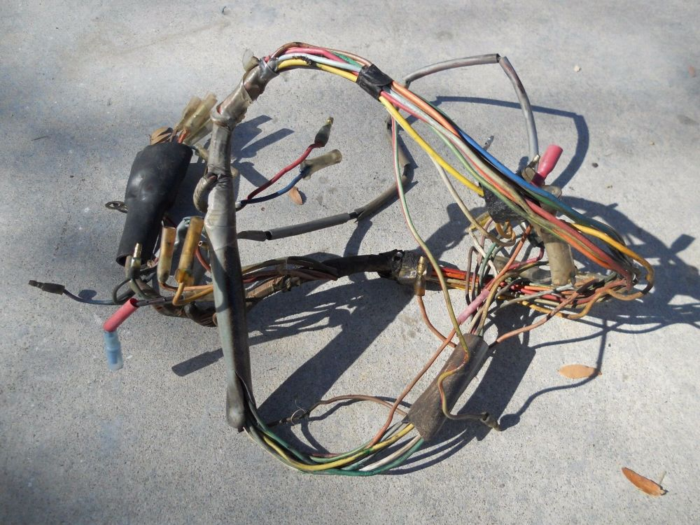 medium resolution of 1971 honda ct90 1004 wiring harness 1 of 2only 1 available