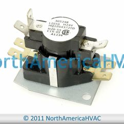 Tempstar Furnace Wiring Diagram Vauxhall Vectra B Icp Heil Blower Motor Fan Relay Sequencer 1054372 Hq1054372td - £21.09 ...