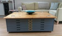VINTAGE ARCHITECTS plan chest of drawers coffee table -  ...