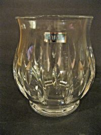 Beautiful Waterford Crystal Ariel Hurricane Votive Candle ...
