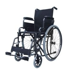 Wheelchair Used Off White Chair Lightweight Folding Self Propel With Lap Belt