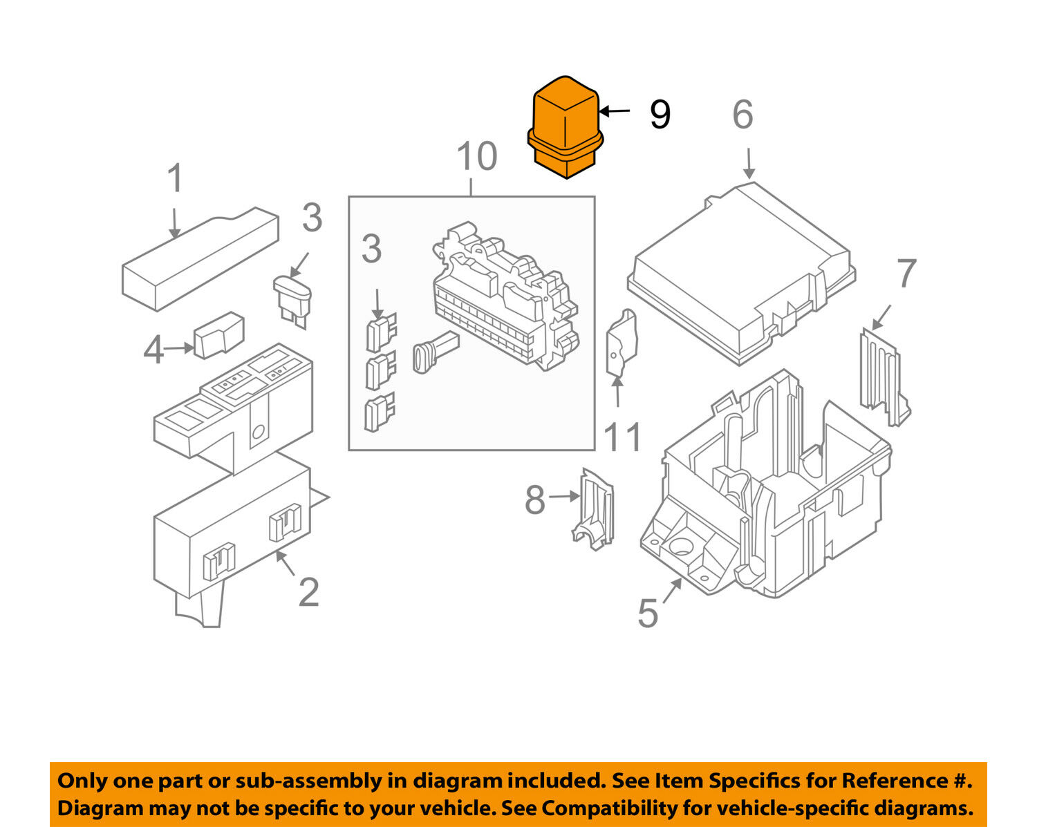 hight resolution of nissan oem horn relay 2523079917 1 of 2only 2 available