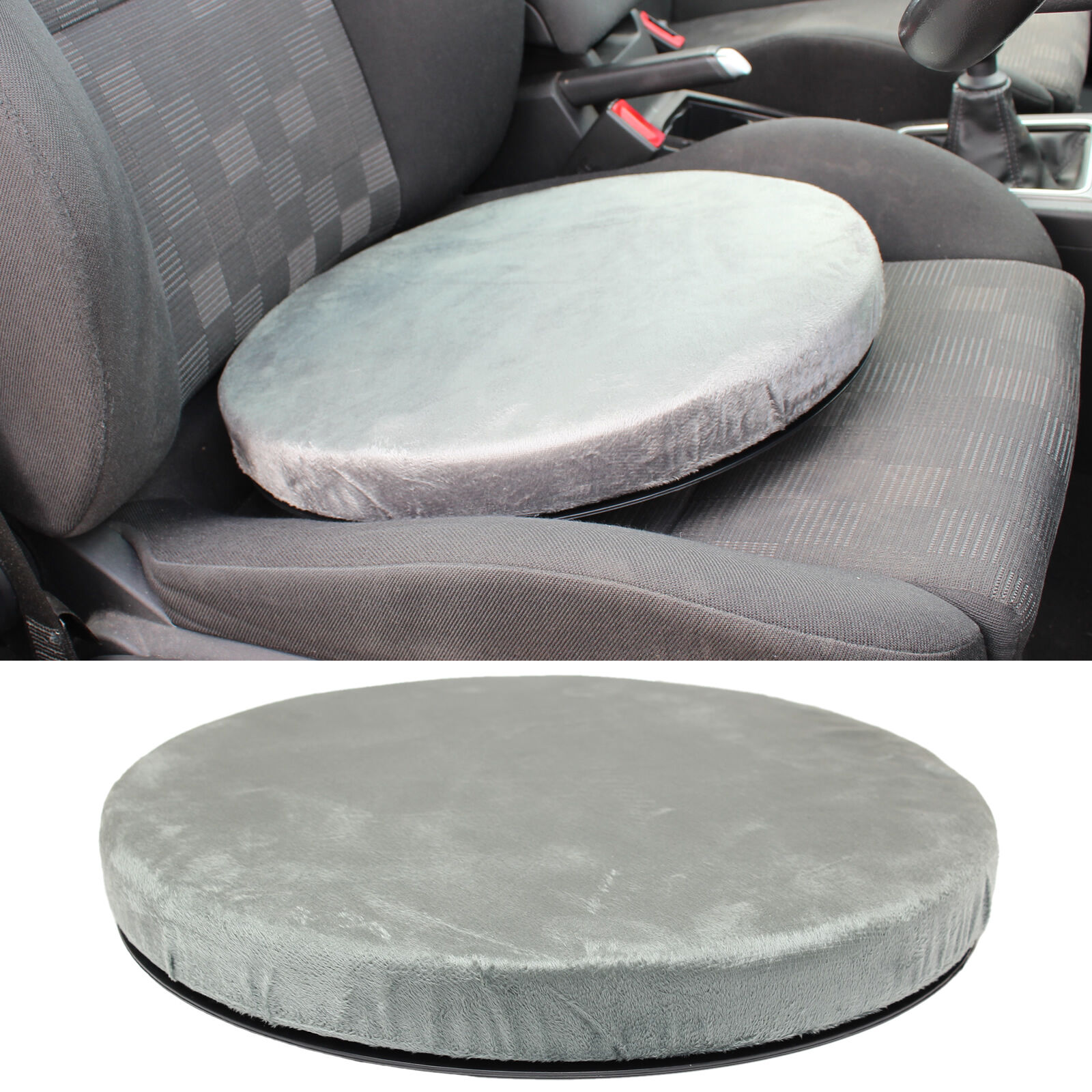 swivel chair for car wood beach rotating seat cushion dining spinning