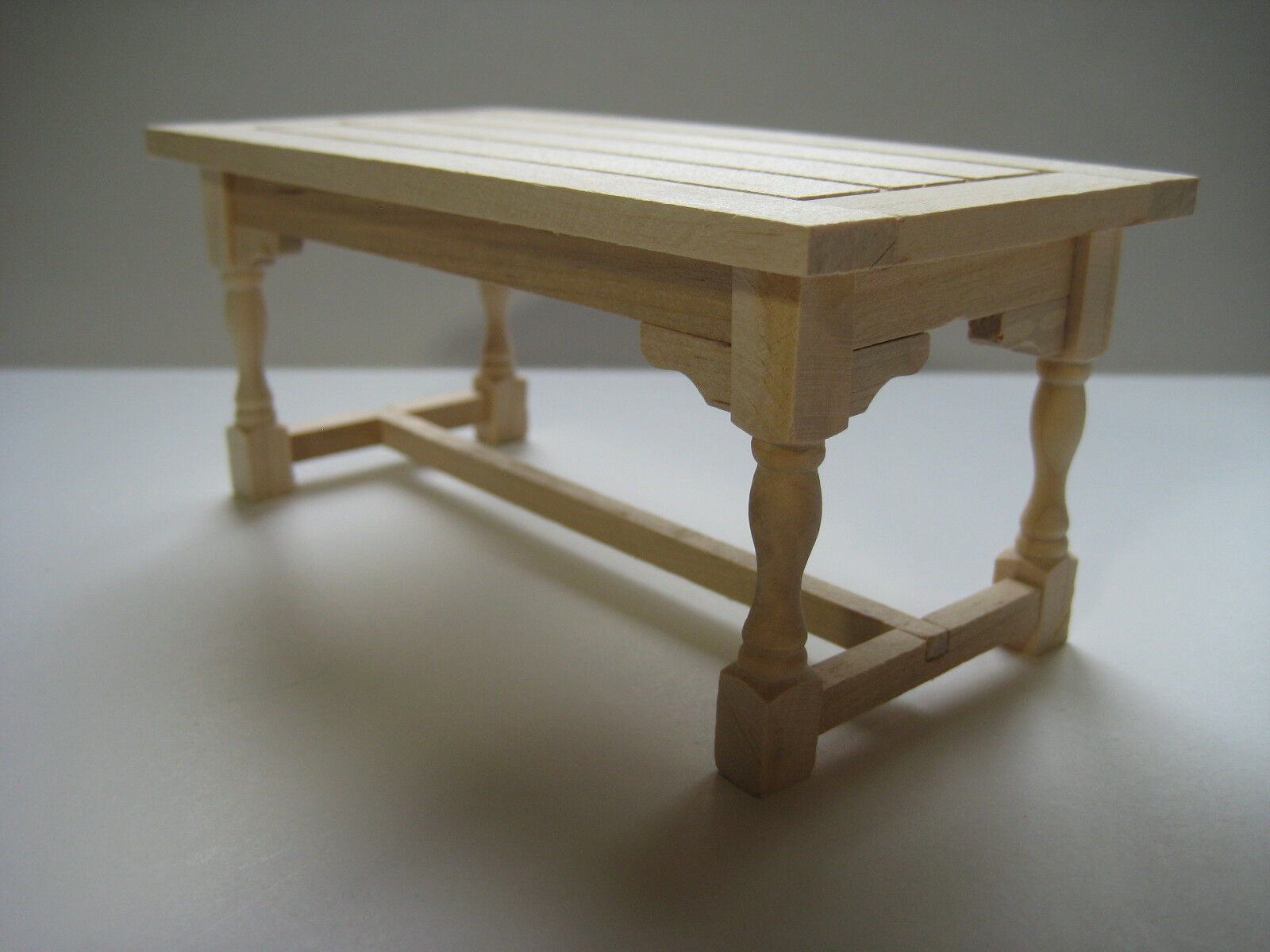 unfinished kitchen chairs shower dollhouse miniature or dining room