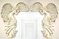 PAIR OF SHABBY Chic Guardian Angel Door Frame Home Decor ...