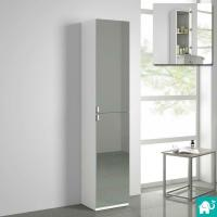 Modern Tall Bathroom Mirror Furniture Storage Cabinet