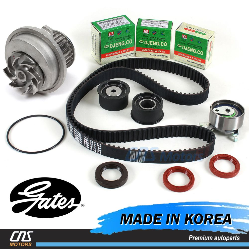medium resolution of gates htd timing belt kit water pump for 99 08 suzuki forenza reno optra nubira 1 of 5free shipping gates htd timing belt