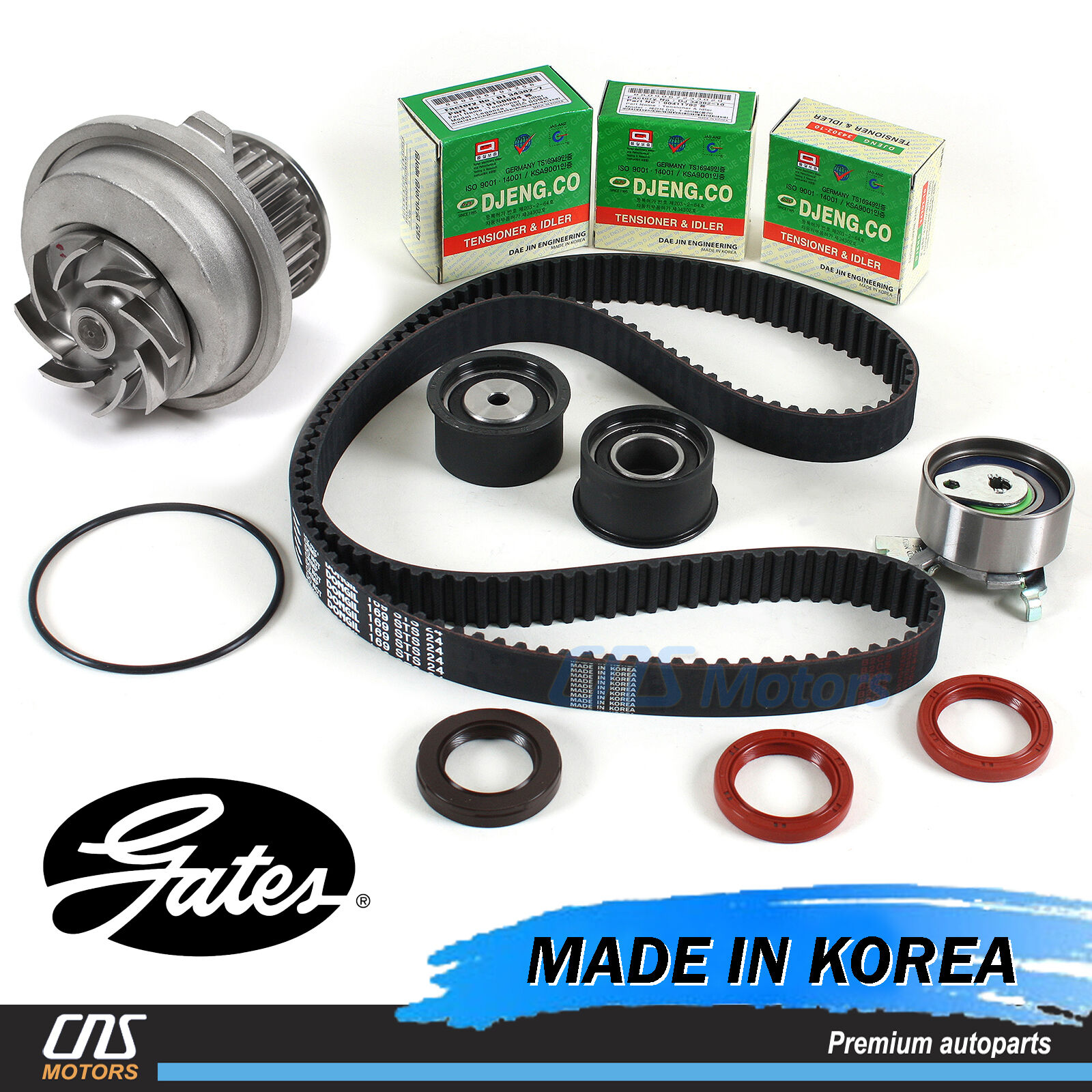hight resolution of gates htd timing belt kit water pump for 99 08 suzuki forenza reno optra nubira 1 of 5free shipping gates htd timing belt