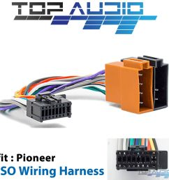 pioneer iso wiring harness fit fh x575ui fh x775bt deh x8750bt deh 1 of 4 see more pioneer wiring harness adapters for gm  [ 1600 x 1600 Pixel ]