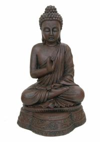 Meditating Buddha Statue Ornament Indoor Outdoor Garden