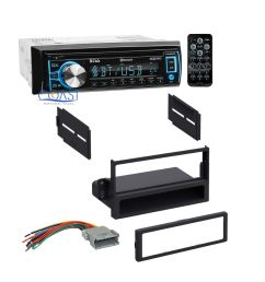boss car radio stereo dash kit wire harness for 2000 2005 saturn ion vue [ 1600 x 1600 Pixel ]