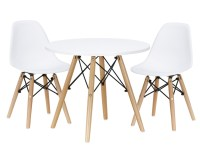 KIDS PLAY TABLE and Chair Set White - $97.00   PicClick AU