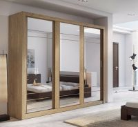 BRAND NEW Modern Bedroom Sliding Door Mirror Wardrobe ARTI