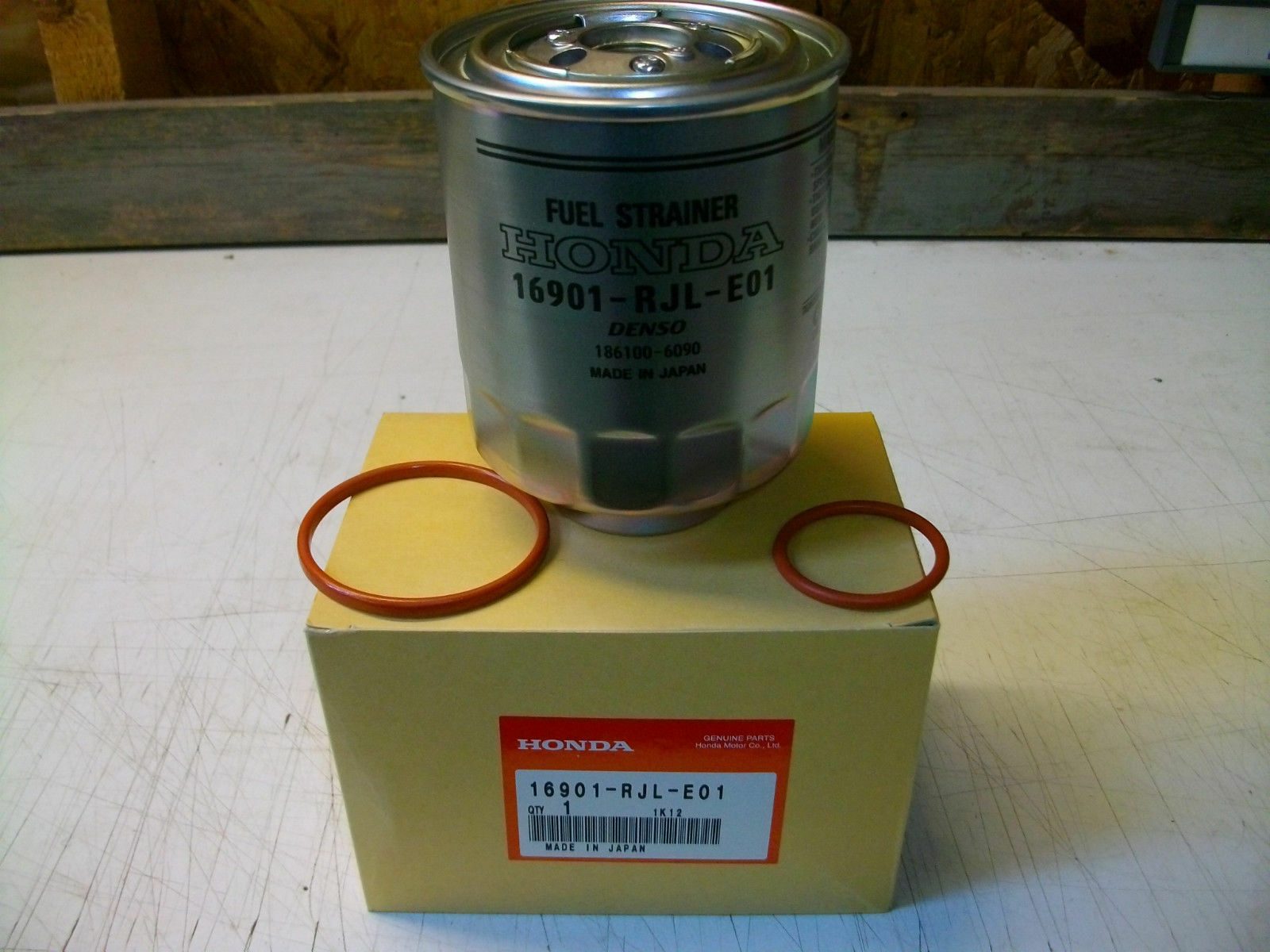 hight resolution of genuine honda civic accord crv diesel fuel filter 2006 1 of 1