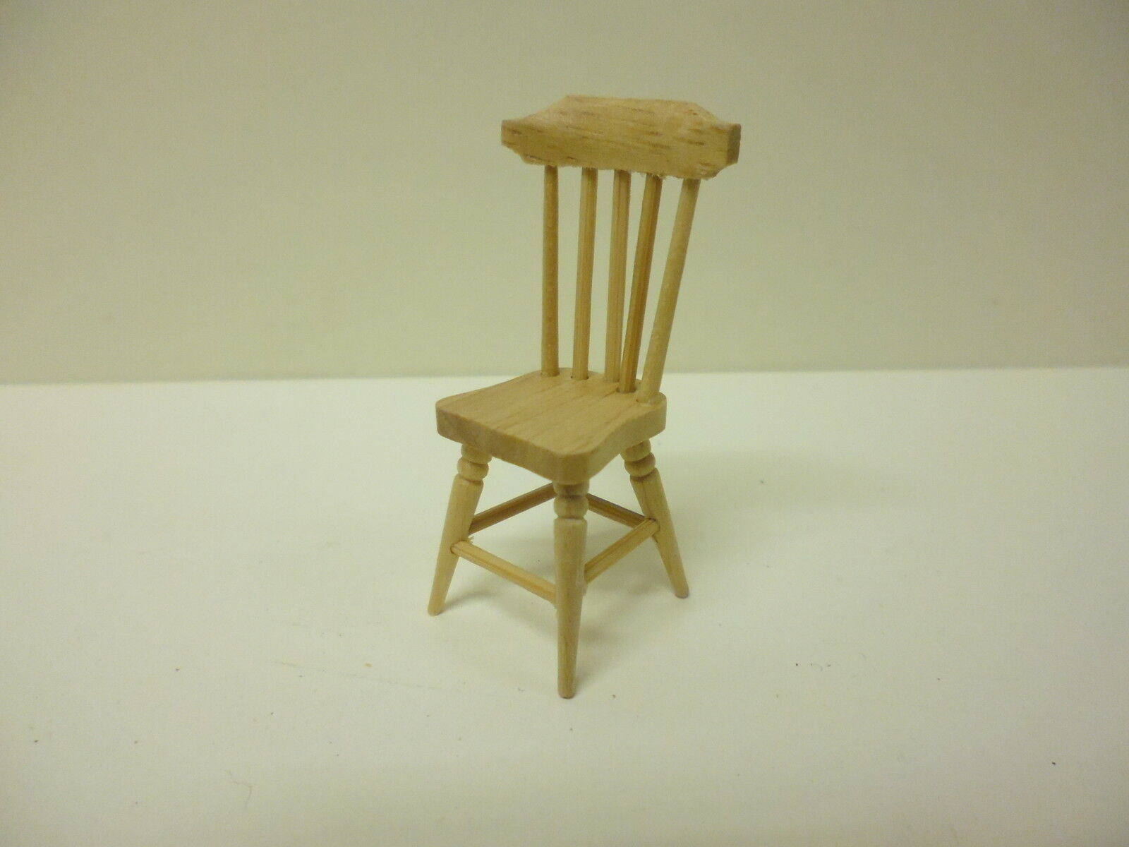 pine kitchen chairs dental saddle chair quality 1 24th scale dolls house furniture