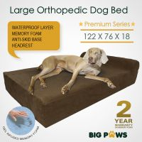 Memory Foam Dog Bed Large Orthopedic Dog Bed Cushion with ...