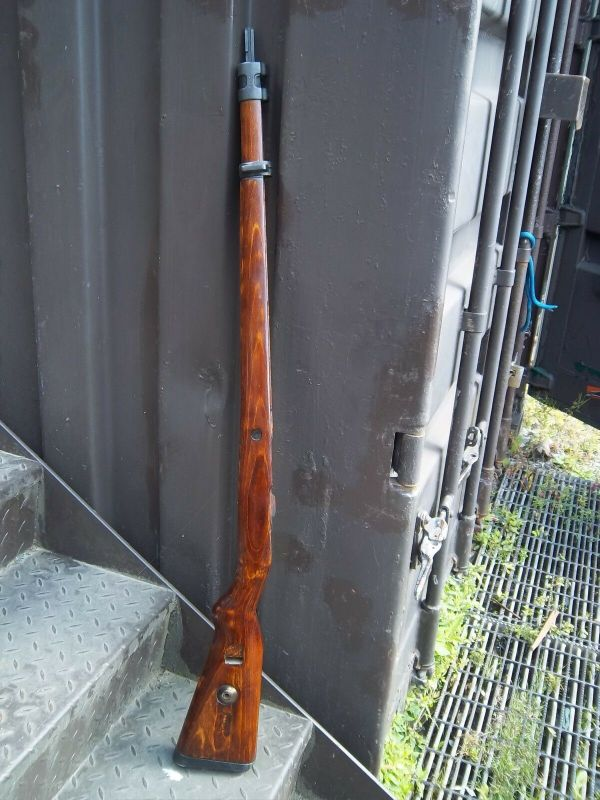 Mauser K98 Stock - Year of Clean Water
