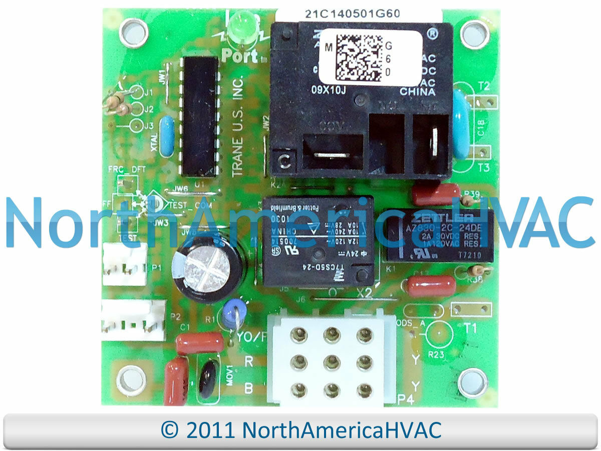 hight resolution of oem trane american standard heat pump defrost control board cnt5875 cnt05875 1 of 1free shipping