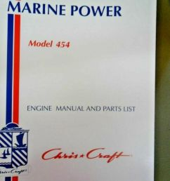 chris craft marine power engine manual and parts list 454 cc pt no 169908805 22 1 of 1 see more [ 768 x 1024 Pixel ]