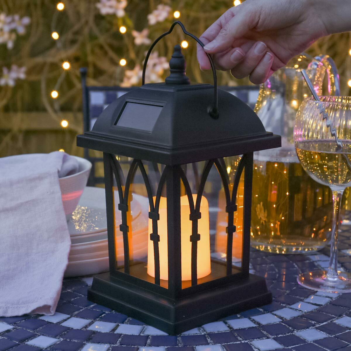 Solar Powered Outdoor Lanterns
