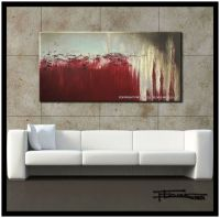 Large Abstract Modern Painting Canvas Wall Art US Direct ...