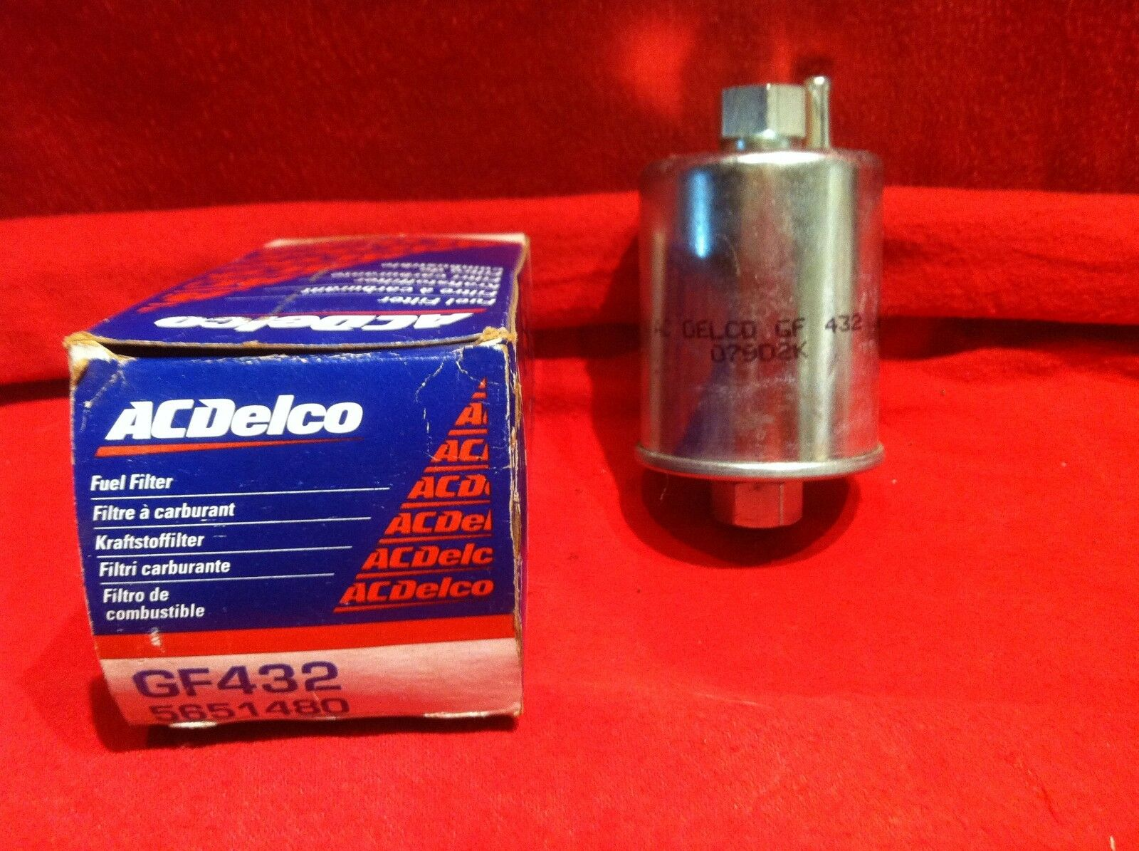hight resolution of 68 69 70 71 72 chevelle fuel filter gf432 camaro nova impala 396 454 nos 1 of 5only 1 available