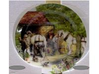 "Royal Doulton 8.25"" Decorative Plate - The Blacksmith   ..."