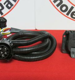 dodge ram 2500 3500 5th wheel gooseneck in bed wiring harness kit new oem mopar [ 1600 x 1200 Pixel ]