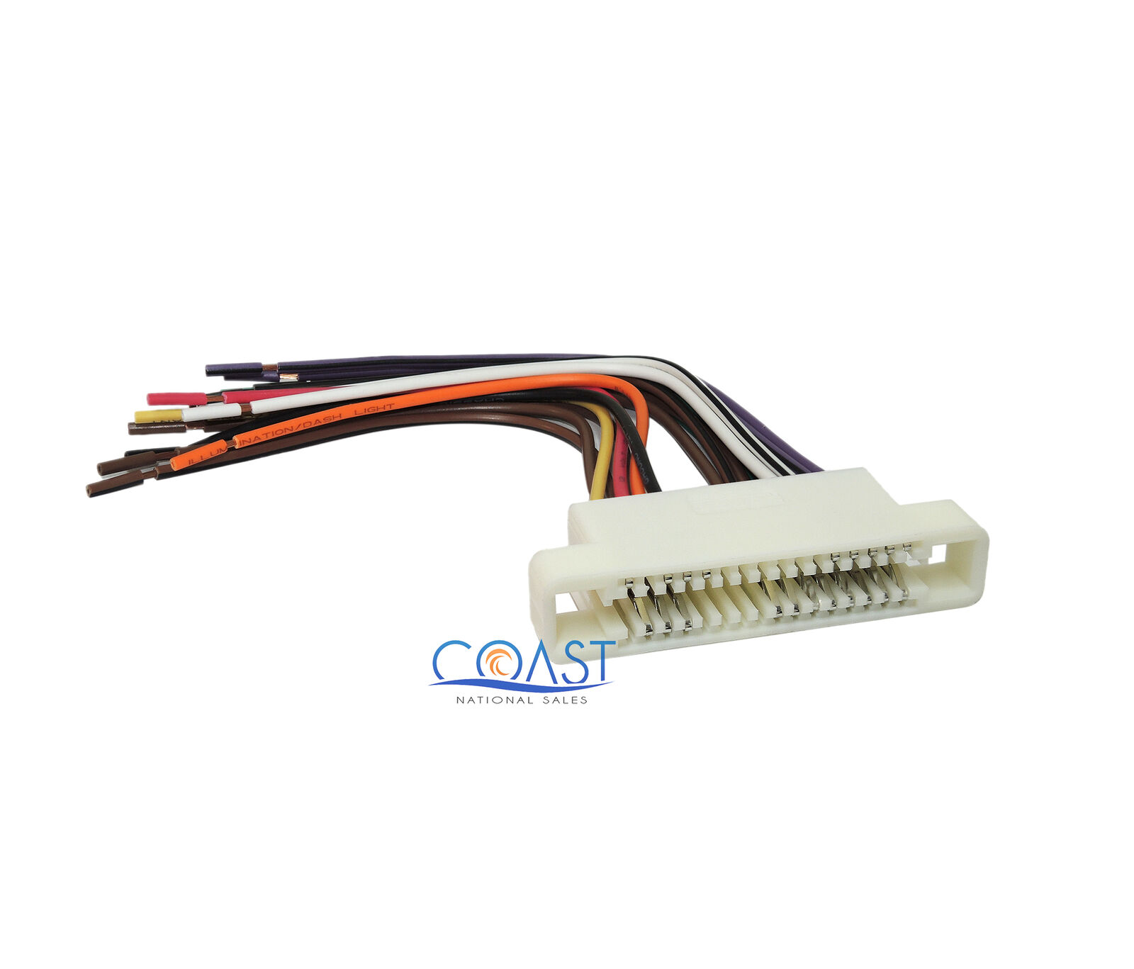 hight resolution of car radio stereo wiring harness for 2000 2005 buick lesabre pontiac bonneville 1 of 1free