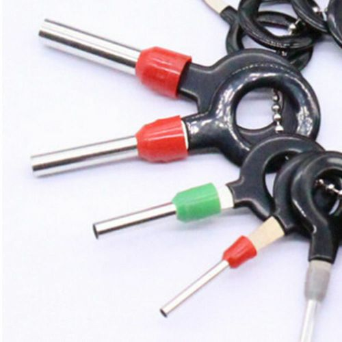 small resolution of 18x car wire harness plug terminal extraction pick connector pin remove tool set 10 10 of 12