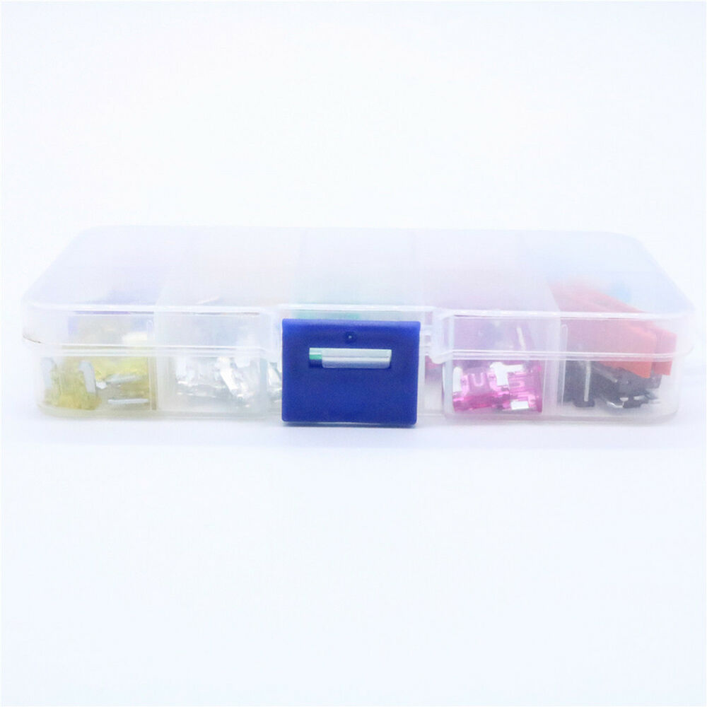 hight resolution of 100pcs assorted car truck mini low profile fuse puller micro blade set kit joyfu 3 3 of 9