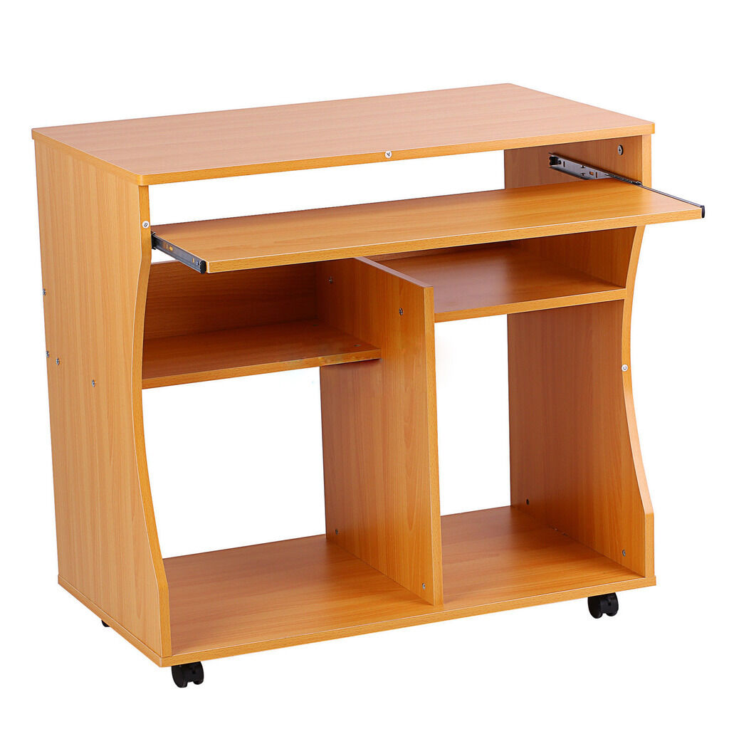 COMPUTER DESK MDF Board Home Office PC Table Work Station