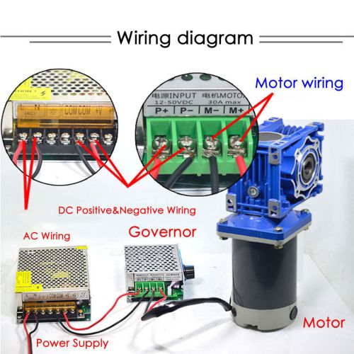 small resolution of 300w dc12v 24v rv40 worm gear reducer gearbox electric rv gear motor high torque 9 9 of 12